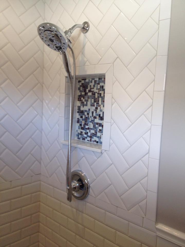 Replace shower tile