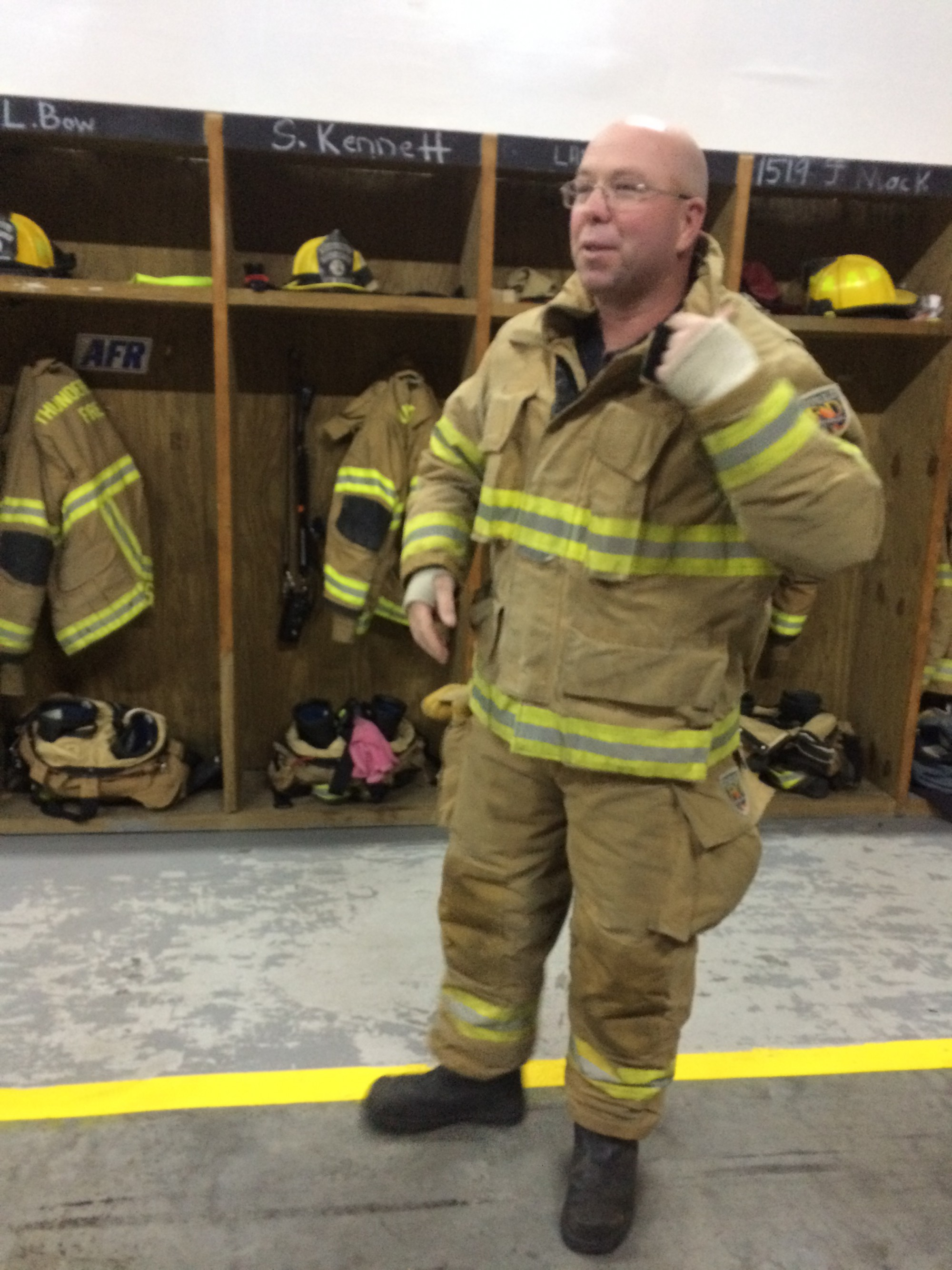 Lance Farago Thunderbolt Volunteer Fire Department